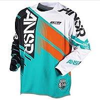 男性クイックドライシャツの モトクロスジャージDownhilマウンテンバイクシャツオートバイ服 LIGUANGWEN (Color : D, Size : XS)