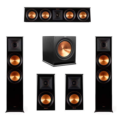 Buy Klipsch 5.1.2 Piano Black System-2 RP-8060FA,1 RP-404C,2 RP-500M,1 R-115SW