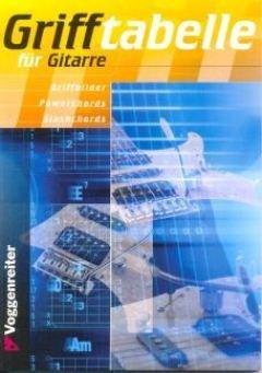 GRIFFTABELLE FUER GITARRE - arrangiert für Gitarre [Noten / Sheetmusic] Komponist: BESSLER JEROMY + OPGENOORTH NORBERT