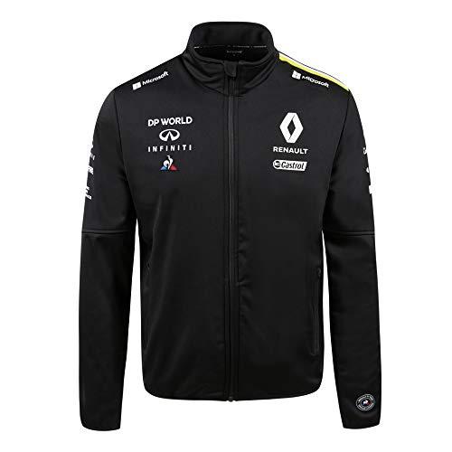 Le Coq Sportif Renault Softshell M Chaqueta, Hombre, Black, 3XL
