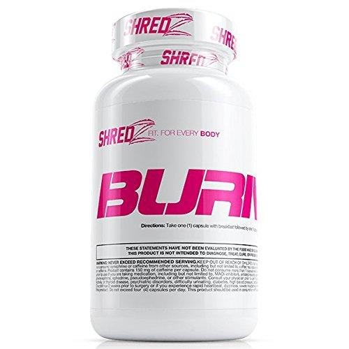 SHREDZ Fat Burner Supplement Pill