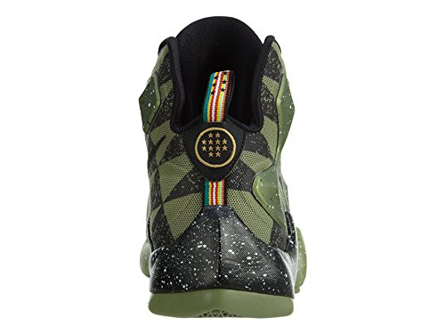 Nike Jungen Lebron XIII AS (GS) Basketballschuhe, Schwarzgrüner Alligator Schwarzes Glücksgrün, 39 EU