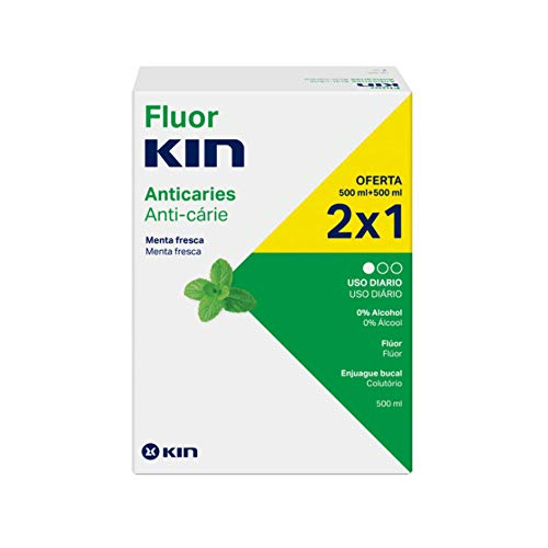 Kin FluorEnjuague Bucal Diario - 1000 ml