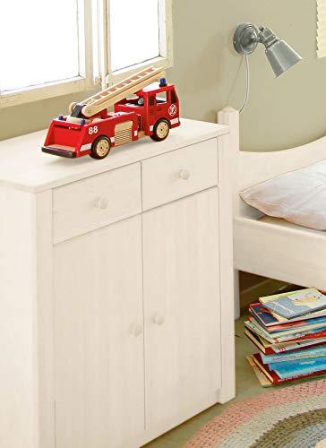 BioKinder 23807 Noah Kommode Wickelkommode aus Massivholz Kiefer 90 x 79 x 50 cm