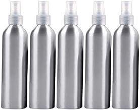 Botella de pulverización portátiles Recargables de Cristal 5 PCS Niebla Fina de Aluminio Atomizadores Botella, 250 ml (Negro) Botella de Spray (Color : Transparent)