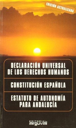 Derechos Humanos, Constitución Española, Estatuto Andalucía (LEGAL)