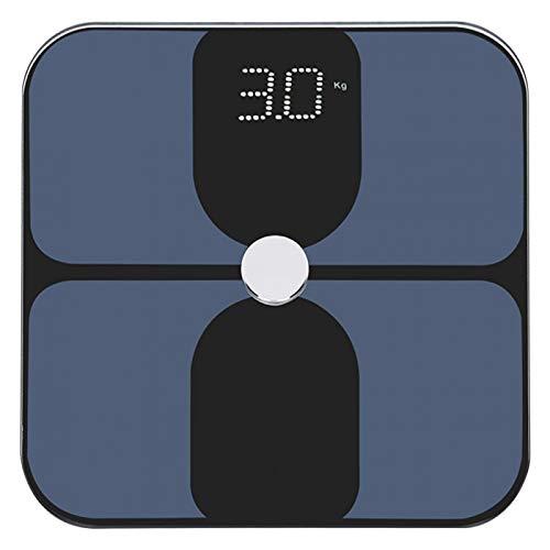Báscula de peso, Báscula de peso multifuncional Báscula de grasa corporal inteligente Báscula de pesaje de alta precisión
