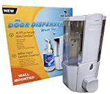Wall Mount Hand Sanitizer Dispenser for Quick and Easy Doorway Hand Sanitizing in The Home Refillable Wall Mounted Hand Sanitizer Dispenser Wall Mount Kit (Dispenser Only, 400ml)