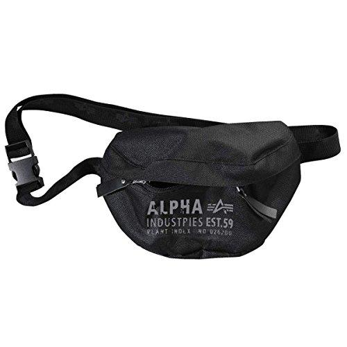 Alpha Industries Gürteltasche Cargo Oxford Waist Bag Bauchtasche black - Einheitsgrösse