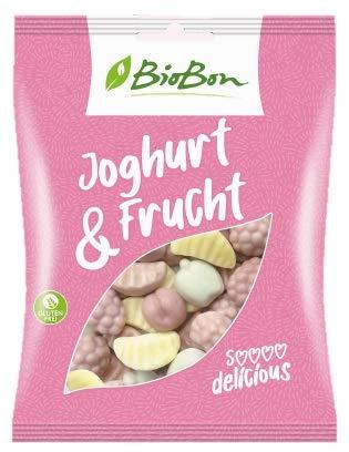 Biobon Bio-Fruchtgummis Joghurt&Frucht 8x100g Beutel