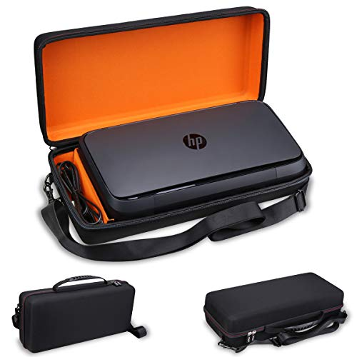 Best Prices! Mchoi Hard Portable Case Compatible with HP OfficeJet Wireless 250 All-in-One Portable ...