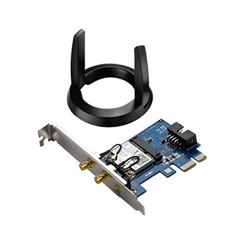 Asus PCE-AC55BT Scheda di rete PCI-Ex Wireless AC1200 Dual Band  Bluetooth 4.2 + BLE