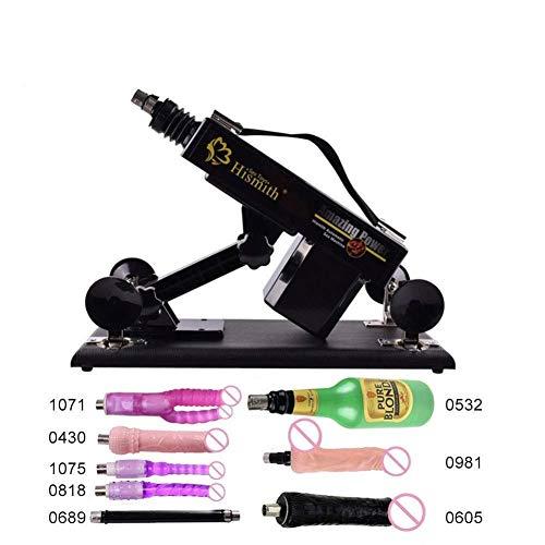 Gieetor Máquina de Herramienta de Masaje automática telescópica y eléctrica con Varios Accesorios for Mujeres