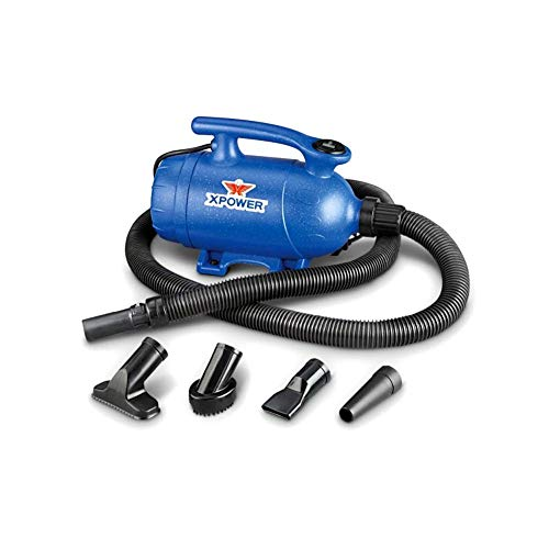 XPOWER 2-in-1 Pet Dryer and Vacuum, 2 HP, 2 Speed