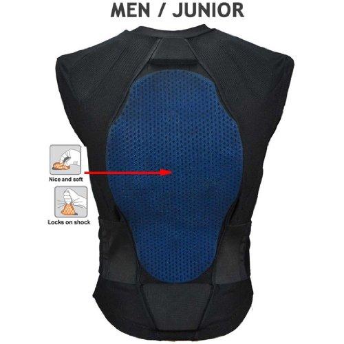 Bliss ARG Vest Protektor Black / Blue, Black, L