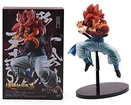 QI-shanping Anime Dragon Ball GT Super Saiyan 4 Son Goku Kakarotto Action-Figur Spielzeug PVC Figur Sammlermodell, mit Kasten, mit dem Kasten (Color : with Box)