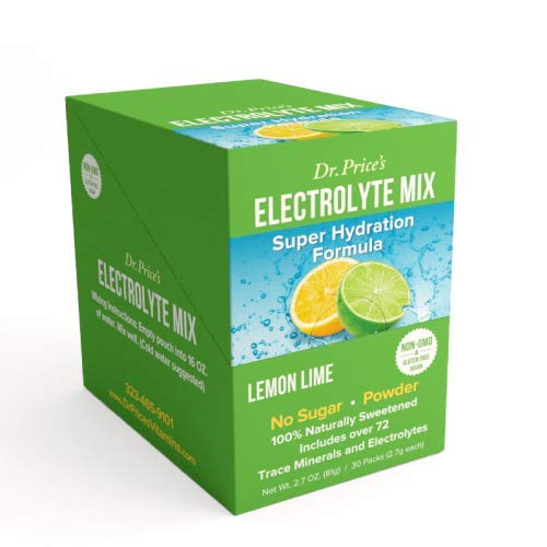 ELECTROLYTE MIX gusto Limone e Lime-è una miscela di oltre 72 minerali in traccia ed elettroliti-Una grande degustazione e conveniente modo di idratazione corretta e naturale!