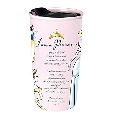 Princess Mantra Disney Themed Ceramic Travel Mug