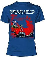 Uriah Heep The magician's birthday T-shirt zwart Band merch, Bands