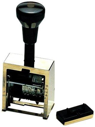 Reiner 200300-011 - Sello numerador automático (6 cifras, 5,5 mm)