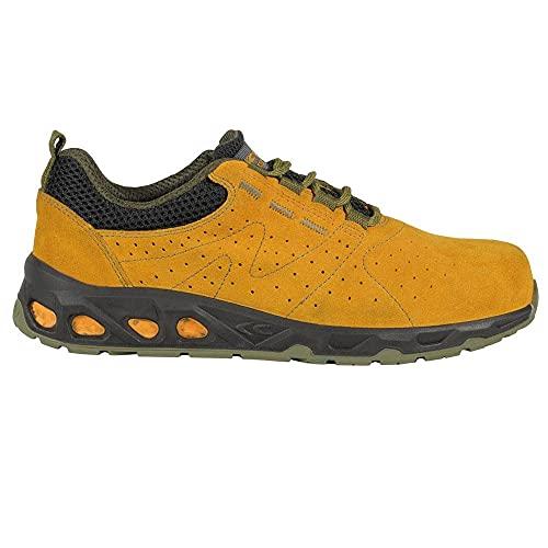 Cofra 73070-001.W45 NEPER S1 P SRC Sicherheitsschuhe, Orange/Grün, Größe 45
