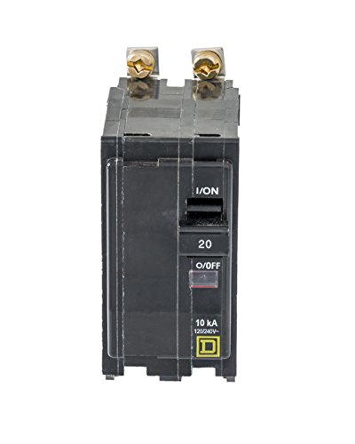 Square D by Schneider Electric QOB220CP Circuit Breaker, Black