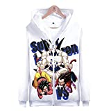 PLMNK Dragon Ball 3D, suéter de Bolsillo de Manga Larga, Sudadera con Capucha...