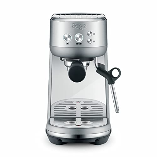 Sage Appliances SES450 the Bambino, Máquina de Expreso, Brushed Stainless Steel