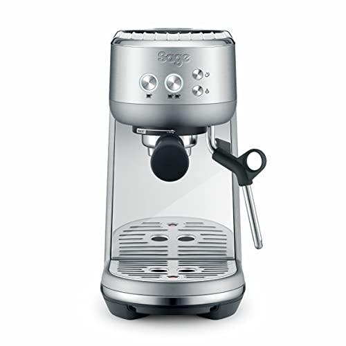 Sage Appliances SES450 the Bambino, Siebträger Espressomaschine, Gebürstetes Edelstahl