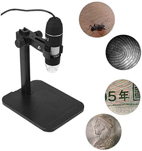 XIWAN Professional USB Digital-Mikroskop 1000X8 LED 2MP Elektronische Mikroskopendoscope Zoom Kamera Lupe + Lift Stand