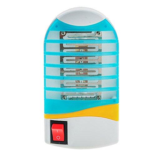 VOSAREA Insektenvernichter Elektrisch Indoor Mückenschutz Fliegenfalle Steckdose Mückenvernichter Insektenlampe Innen