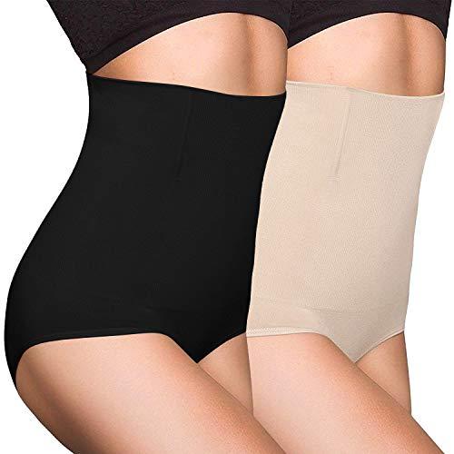 OLIKEME Women's Shapewear Tummy Firm Shaperwear for Women High Waist...
