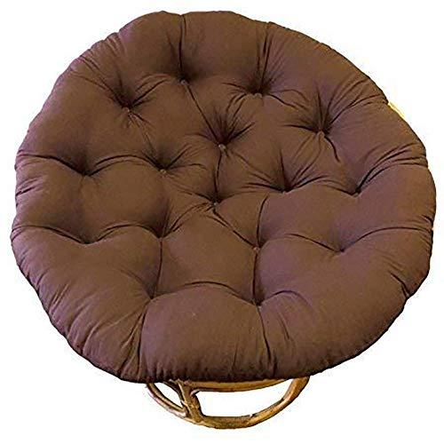 WBDZ Papasan Stuhlkissen, Hängesessel Sitzkissen Hängesesselkissen Verdicken Sie das runde Stuhlkissen und Lassen Sie es in unseren bequemen und übergroßen Papasan-Kaffee 80x80cm sinken