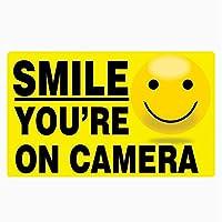 VCHSH 興味のあるステッカースマイルあなたはカメラカーステッカー14.8cm * 8.9cmです (Color : 1pcs)