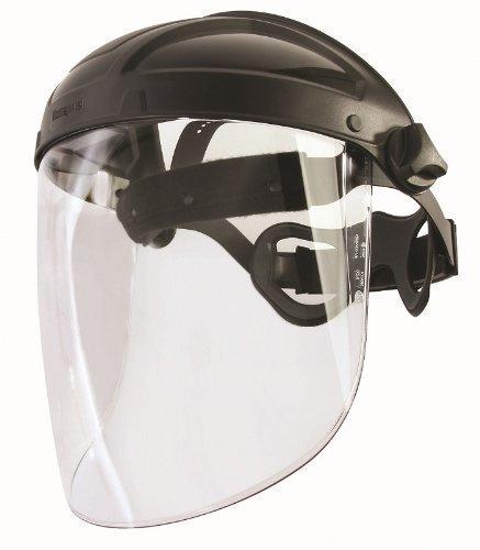 HONEYWELL Turboshield - Protector facial profesional con visera y almohadilla para la cabeza