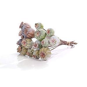 Artificial Flowers Poppy Fruit