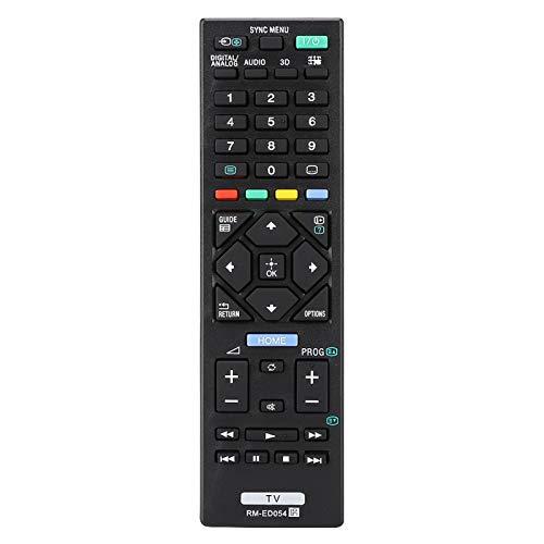 Emoshayoga Control Remoto de TV Reemplazo de TV Compatible con Sony RM-ED054
