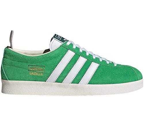 Adidas Originals Gazelle Vintage Hombre Zapatillas Verde, verde, EU 46 - UK 11