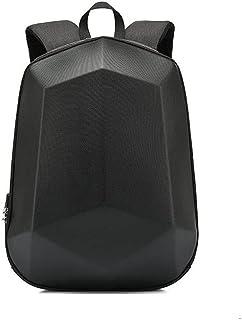 Fmdagoummzibeib Backpack, Desirable For 15.6-inch Laptop, Raincoat Arduous Shell Password Lock Men's Backpack Travel Anti-...