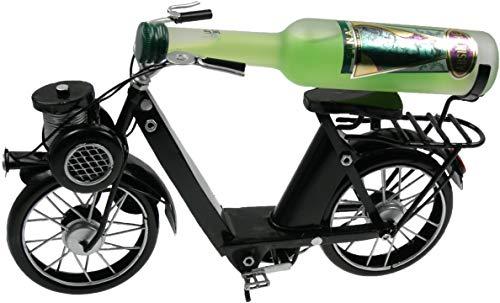 Französisches Solex Velo Fahrrad mit Absinth 4cl 55% Vol.