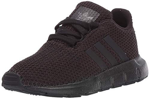 adidas Originals Baby Unisex's Swift Run Sneaker, Black/Black/Black, 6K M US Toddler