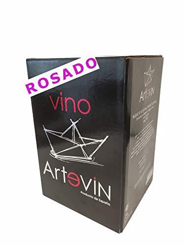 Bag in Box ARTEVIN vino ROSADO 5 L