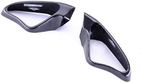Bestem CBDU-1098-MRC Black Carbon Fiber New item for Ducati Max 40% OFF Covers Mirror