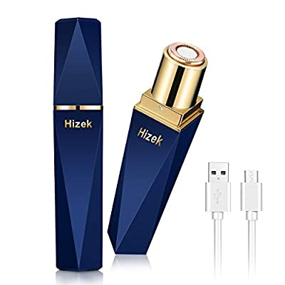 Facial Hair Remover, Hizek Flawless Hair Remover for Women, Rechargeable Diamond Design, Suitable for Face, Arms, Legs by Hizek01