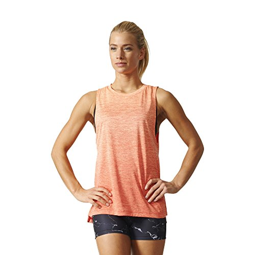 adidas Boxtank Mel Camiseta, Mujer, Naranja (Narbri / Corsen), S