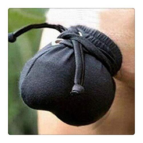 Z-one 1 Anello massaggiante perizoma per borsa in materiale sexy intimo maschile in tessuto