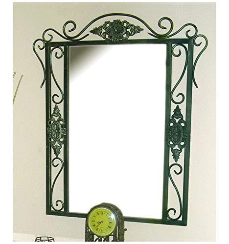 Espejo de forja Isabella - Negro