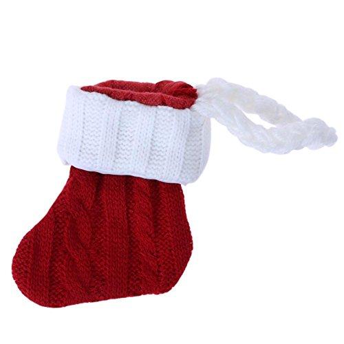 prettygood7 Kerst Gebreide Kousen Bestek Vorken Mes Servies Tafelmat Pad