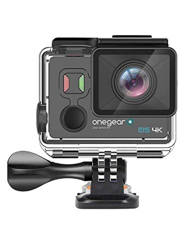 Onegearpro EIS 4K FUN Action camera con stabilizzatore digitale a 6 assi e comando a distanza 4K Ultra HD CMOS 16 MP Wi-Fi