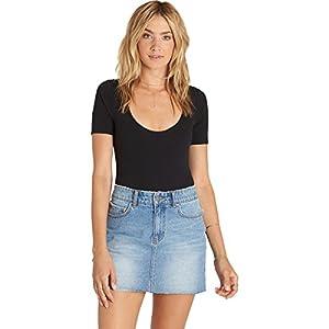 Women's Surfside Mini Denim Skirt